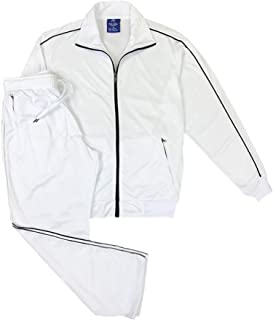 Men Classic Activewear Spring TrackJacket Trackpants Tracksuit Outfit