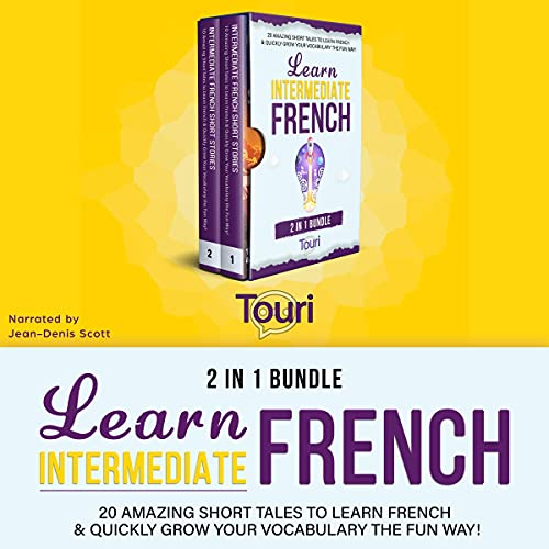 Learn Intermediate French - 2 in 1 Bundle (French Edition) cover art