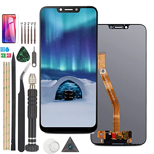 RongZy Kompatibel mit Huawei Mate 10 Pro Ersatz Display LCD Bildschirm & Touchscreen-Digitizer mit Werkzeugen (Schwarz)