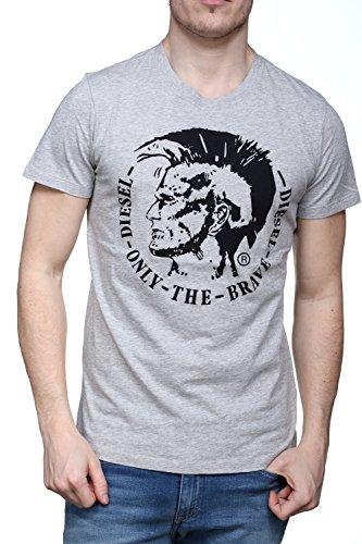 Diesel Herren T-Shirt grau XL