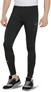 BALEAF Men's Thermal Cycling Tights Fleece Athletic Pants Compression Tights