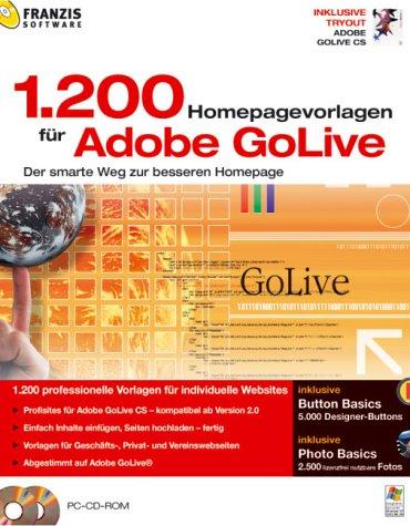 1200 Homepage Vorlagen für Adobe GoLive