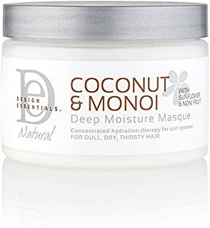 Design Essentials Coconut & Monoi Deep Moisture Masque - 12 Oz