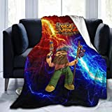 Dick Wi-Lde Fleece Throws Blankets Ultra-Warm Cozy Luxury Blanket for Bed Living Room Home Chair...
