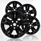 Upgrade Your Auto 17' Gloss Black Wheel Skins (Set of 4) for Chevy Equinox 2010-2017 - 5433