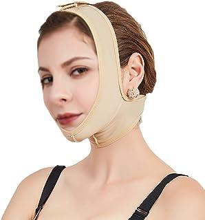 V Face Shaper Gezichts- En Halslift Post-elastische Mouw Onderkaakset Gezichtsartefact Facial Bundle Dubbel Kinmasker (maa...