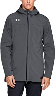 Under Armour Accelerate Terrace Jacket, Pitch Gray//Onyx White