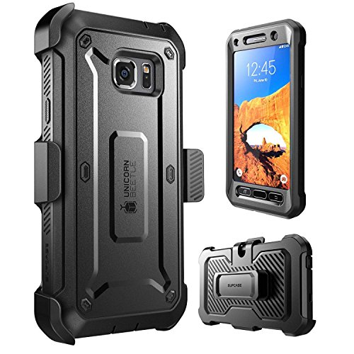 Galaxy S7 Active Case, SUPCASE Full-Body Rugged Holster Case with Built-in Screen Protector for...