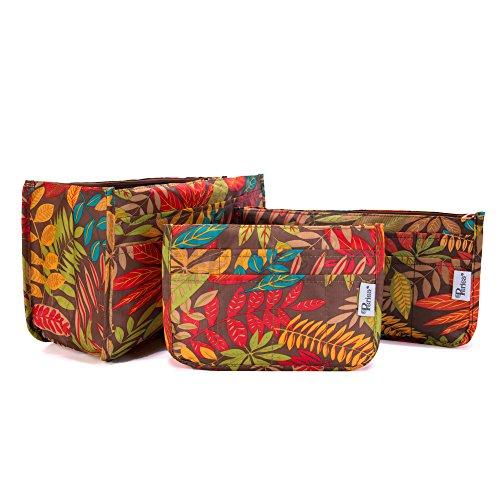 Periea - Handbag Organiser, Orange Daisy