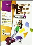 Matematica teoria esercizi. Geometria. Per la Scuola media. Con espansione online: 1
