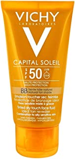 Vichy Ideal Soleil BB Tinted Mattifying Face Fluid Dry Touch SPF 50-50 ml