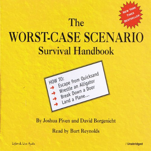 The Worst-Case Scenario Survival Handbook audiobook cover art
