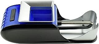 SROMEZ Maquina Electrica Entubadora de Cigarros Fabricante de la Máquina del Cigarrillo de DIY, el Mejor Regalo de los hombres,Blue