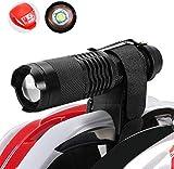 Maketheone Helmet Torch Flashlight Headlamp MTB Lights Bike Front Rear Light Set Rechargeable