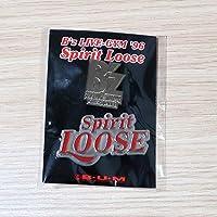 B'z ピンバッジ LIVE-GYM '96 Spirit Loose ピンバッチ ピンズ PINS グッズ