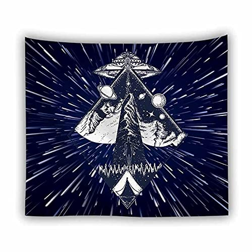 Mandala bergamota tapiz colgante de pared retro bohemio hippie tapiz tapiz tapiz tapiz psicodélico manta A3 150x200cm