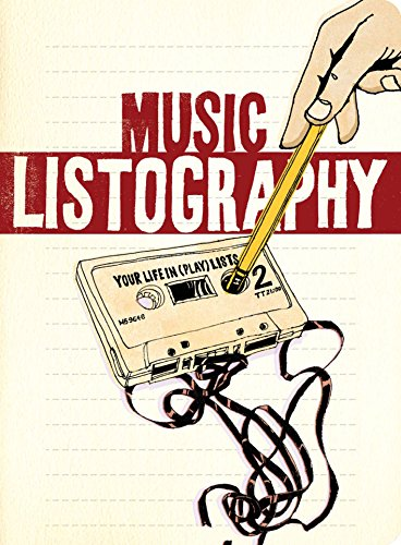 Music Listography Journal: (Gift for Music-Lovers, Journal for Teens, Book about Music)