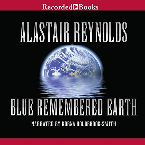 Blue Remembered Earth audiobook cover art
