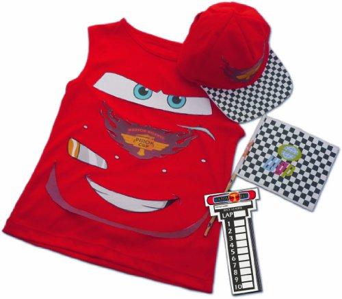 Rubie's-déguisement officiel - Disney- Déguisement Costume Sac Réversible Cars avec Accessoires- I-3692