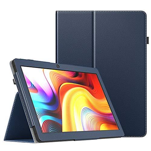 MoKo Funda Compatible con Dragon Touch K10 Tablet, Ultra Slim Función de Soporte Plegable Smart Cover Stand Case Compatible con Dragon Touch K10 10-Inch Tableta - Índigo
