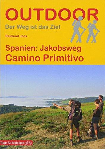 Spanien: Jakobsweg Camino Primitivo (Outdoor Pilgerführer)