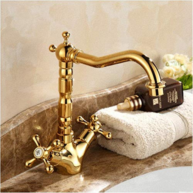 Waschbecken Wasserhhne Wasserhahn,Gold Kupfer Bad Wasserhahn ...