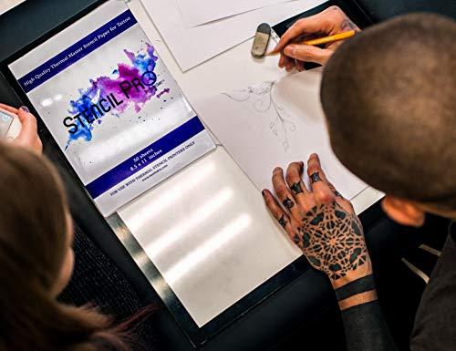 Stencil Pro Tattoo Transfer Paper | 50 Sheets 8.5