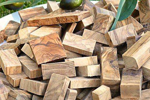 Olivenholz erleben -  1kg Räucherholz aus