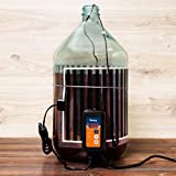 Fermentation Carboy Heater with Thermostat - Kombucha Heating Pad - Heat Pad with Controller for Home Brewing...