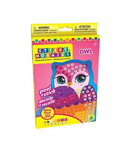 Orb Factory 620932 - Sticky Mosaics Singles Owl