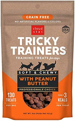 Cloud Star Tricky Trainers Chewy Grain Free Low Calorie Dog Training Treats Baked in the USA product image