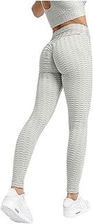 Sunnywill Sunnywill Damen Hohe Taillen Yoga Hosen Bauch Steuerung, die Beuten Gamaschen Aufzug Strumpfhosen abnimmt