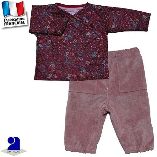 /%/% LOUIS /& LOUISA Pure Loungewear Pantalon revers bois de rose Taille 34-44 Neuf/%/%