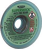 MG ChemicalsDesoldering Braid #3 Fine Braid Super Wick with RMA Flux, 5' Length x 0.075