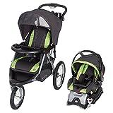 Baby Trend Expedition GLX Jogger Travel System, Flex Loc 32lb Car Seat, Peridot