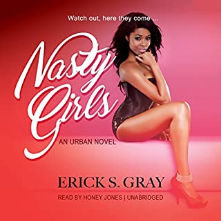 Nasty Girls audiobook cover art