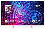 Televisor Philips 32PFS5603/12 32 Pulgadas (80 cm) Televisor LED Full HD Ultrafino (Pixel Plus HD, 2 entradas HDMI con...