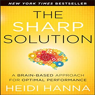 The Sharp Solution audiobook cover art