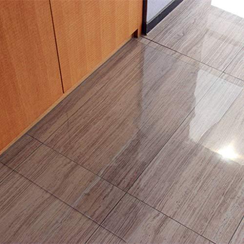 ZHI-HAN PVC Wasserabweisend Boden Matte,Hartböden Bodenschutzmatte Premium Qualität Für Hartböden Bodenschutzmatte Öl-Beweis Kein Bügeln Geeignet Für Büro Schlafzimmer Tür-Orange Peel 1.5-85 * 140cm