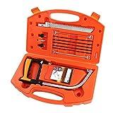 Kit de scie à main 12 en 1 Magic universel avec étui de rangement pour couper du...