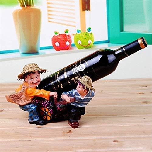 Estantería de vino Vino estante vino estante decoración europeo creativo casa gabinete decoración decoración resina artesanía vino rack vino gabinete vino estante artesanía gabinete de vino decoracion