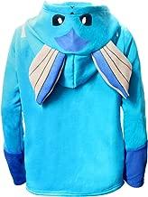 YOURNELO Men's Women's Pocket Monster Fleece Lined Hoodie Pullover Sweatshirt Jumper