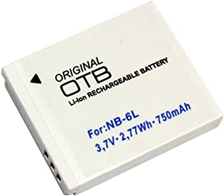 Batería para Canon PowerShot SX530 HS (Li-Ion)