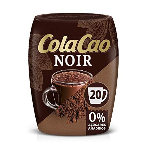 ColaCao Noir: Intenso sabor y 0{b1e73688dae1636461fec3741329f1173b46551ec969698e6ba898030ebeaa89} azúcares añadidos - 300g