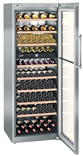 Liebherr WTes 5972 Vinidor Libera installazione Cantinetta termoelettrica Acciaio inossidabile 211bottiglia/bottiglie A cantina vino