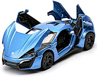 Diecasts Toy Vehicles Fast Furious Lykan Alloy Car Model Diecasts Toy Vehicles Toy Car Metal Toy Kid Toys for Children Boys