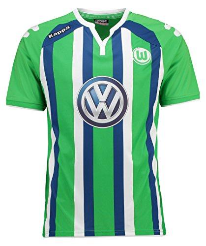Kappa Herren Trikot VFL Away, 304 Classic Green, M