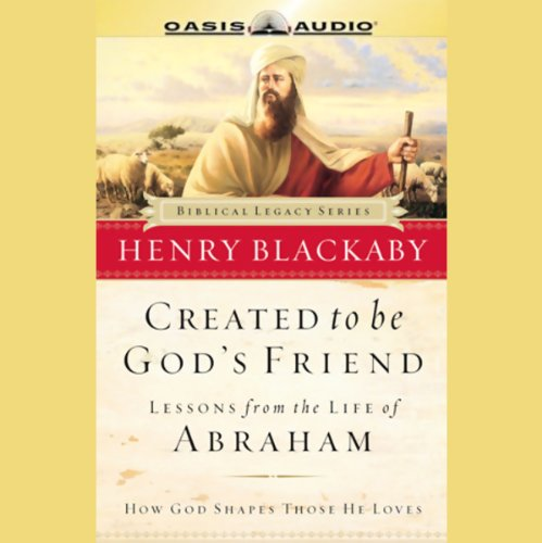 Created to be God's Friend audiobook cover art