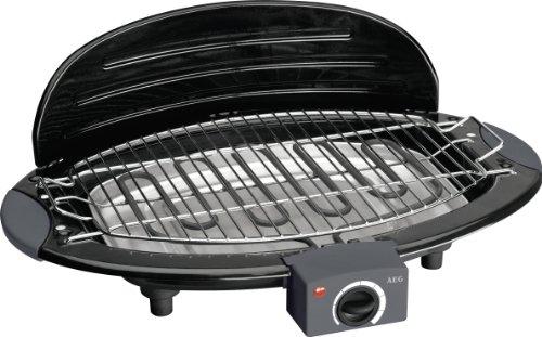 AEG BQ5514 Grill de Table/Barbecue Inox