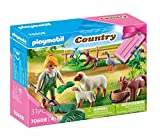 "PLAYMOBIL Country 70608 - Gift Set ""Contadina"", dai 4 Anni"